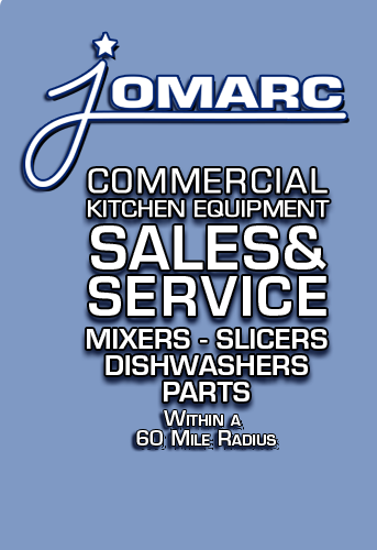 Jomarc Hobart Commercial Kitchen Equipment Sales & Service Hobart mixers, slicers, dishwashers, hobart parts, within a 60 mile radius