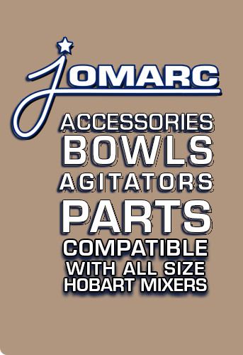 Hobart Mixer Accessories Stainless Steet Bowls, Agitators, Hobart Parts