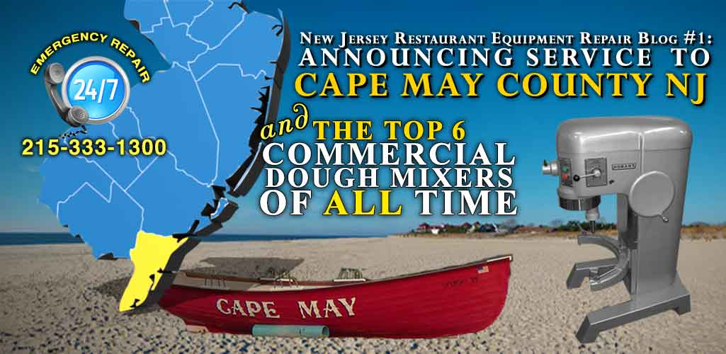 Cape May County Commercial Dough Mixer And Pizza Oven Repair