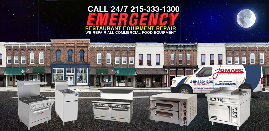 EMERGENCY Restaurant Equipment Repair for New Jersey Philadelphia
