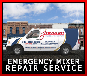 We repair all types & brands of commercial mixers: Hobart, Doyon, Globe, Vollrath, Sammic, Eurodib, and Avantco Mixers, Planetary & Stand Mixers. We service South Eastern Pennsylvania & Mercer, Burlington, Camden, Gloucester, Cumberland, Salem, Cape May, Atlantic & Ocean Counties in New Jersey