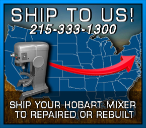 Ship your Hobart Mixer to Jomarc for repair.